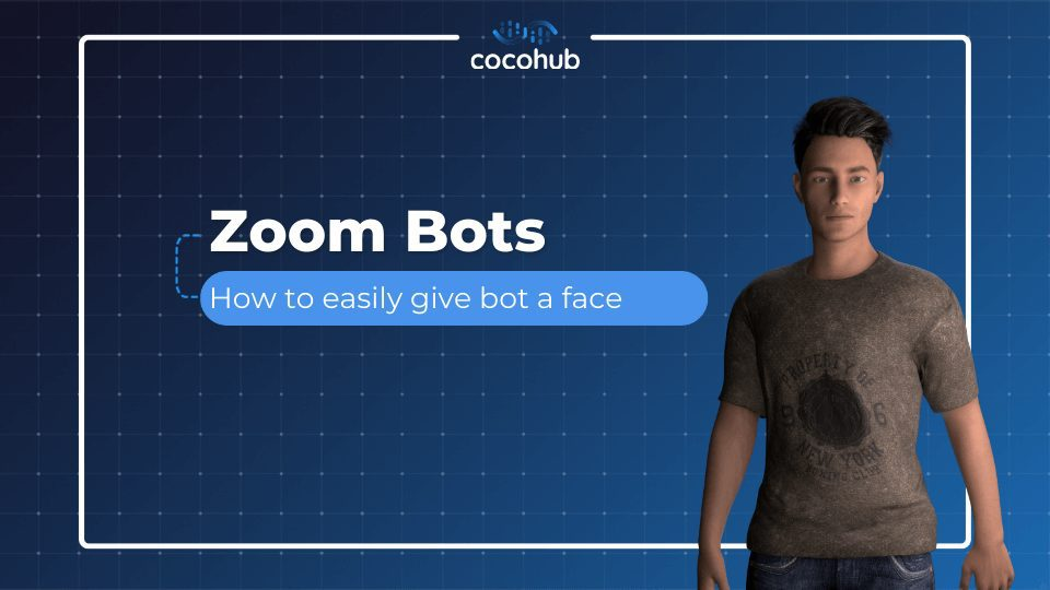 Zoom Bots: How to easily give your bot a face?