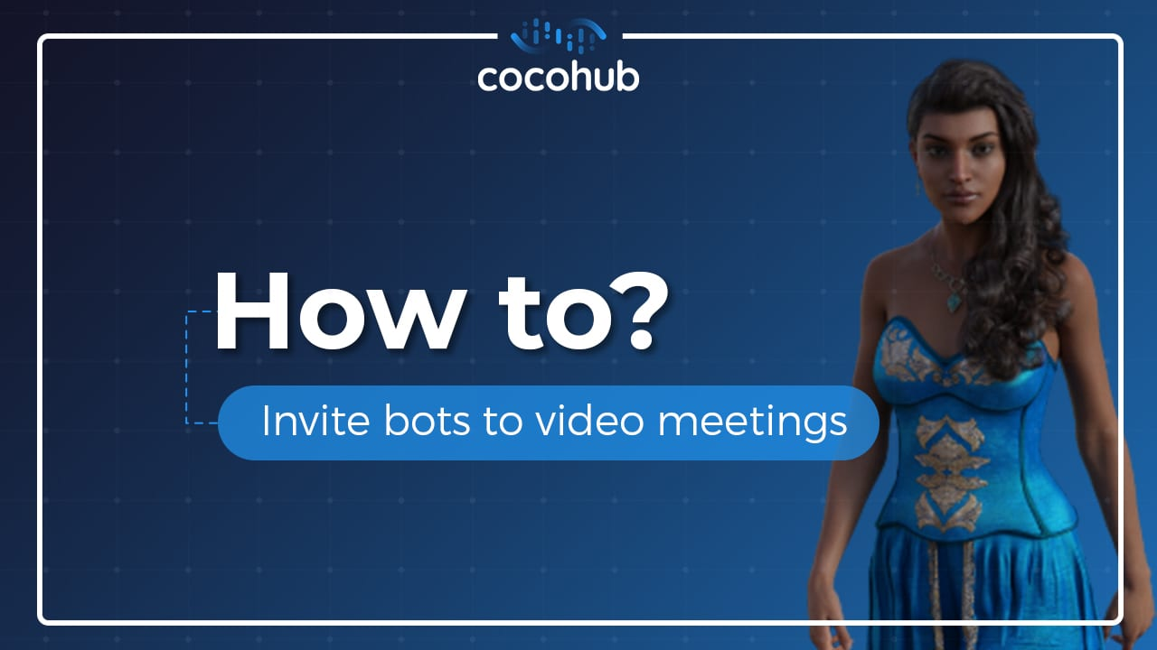 How do I invite bots to video meetings?