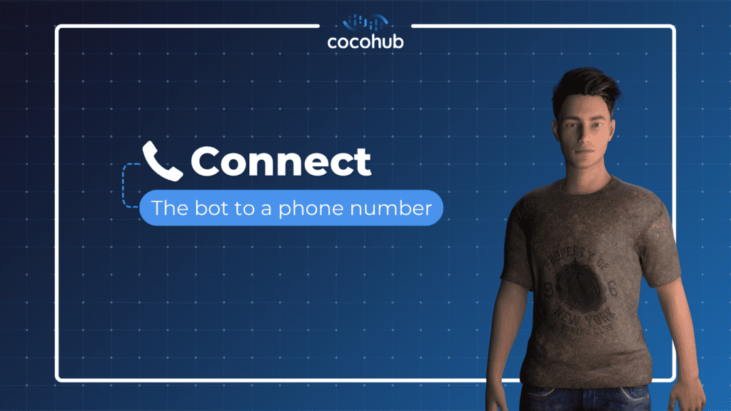 call bot - connect your bot to a phone number