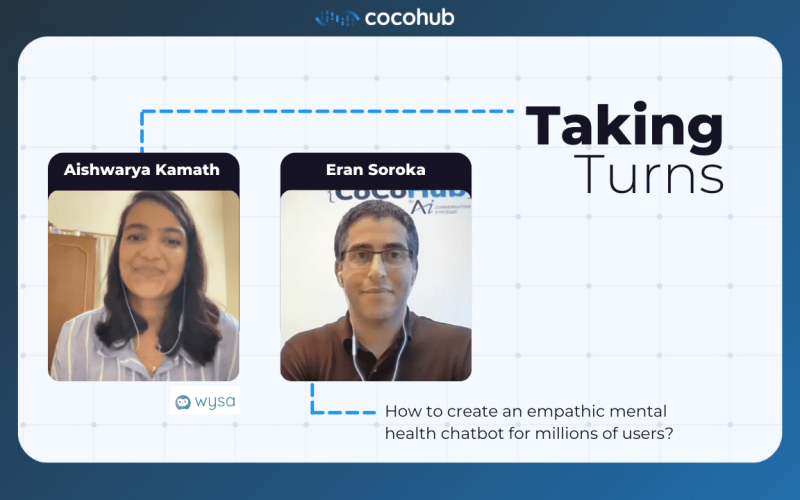 Taking Turns with Aishwarya Kamath - Mental Health Chatbots